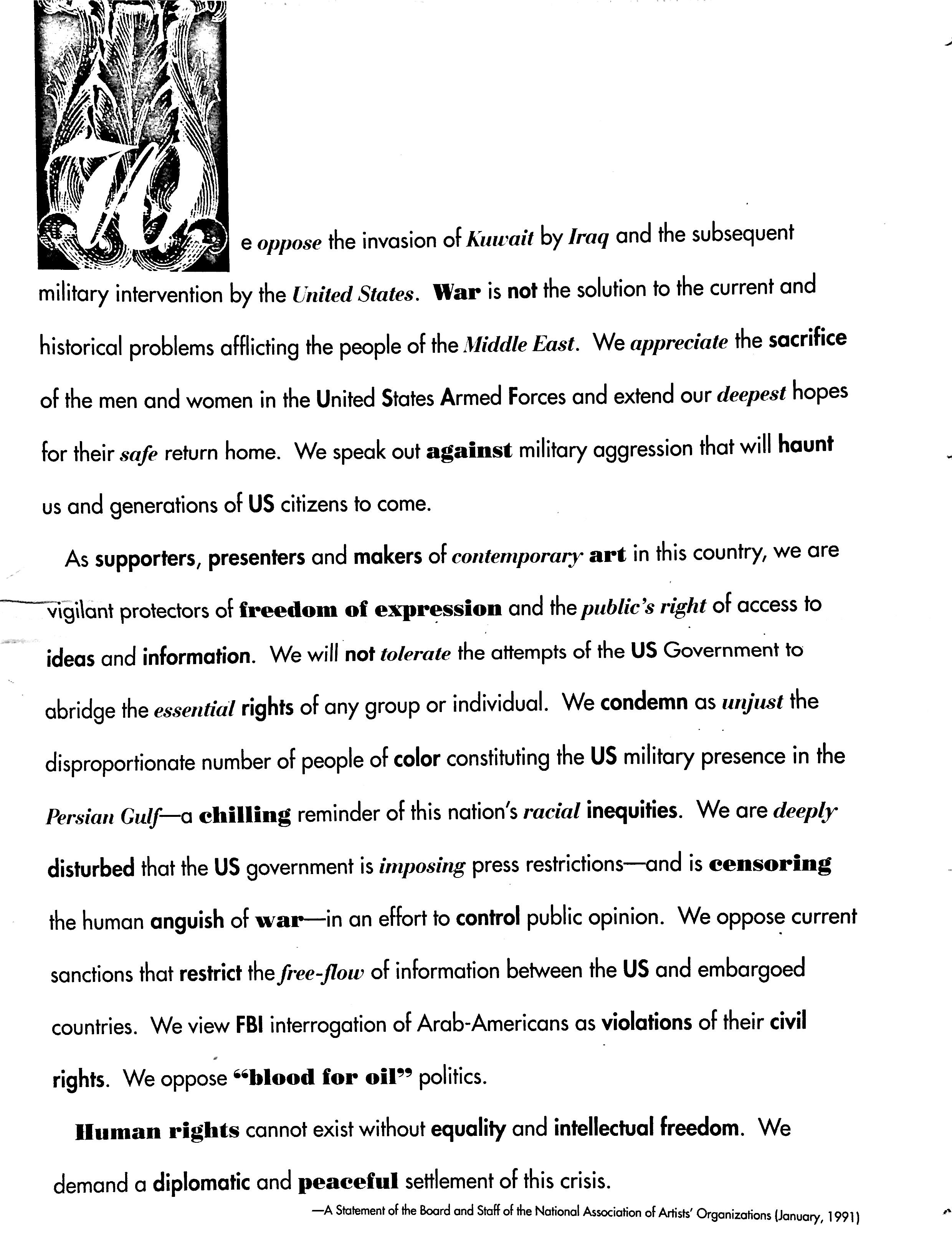January 1991 - NAAO Bulletin Page 1.jpg