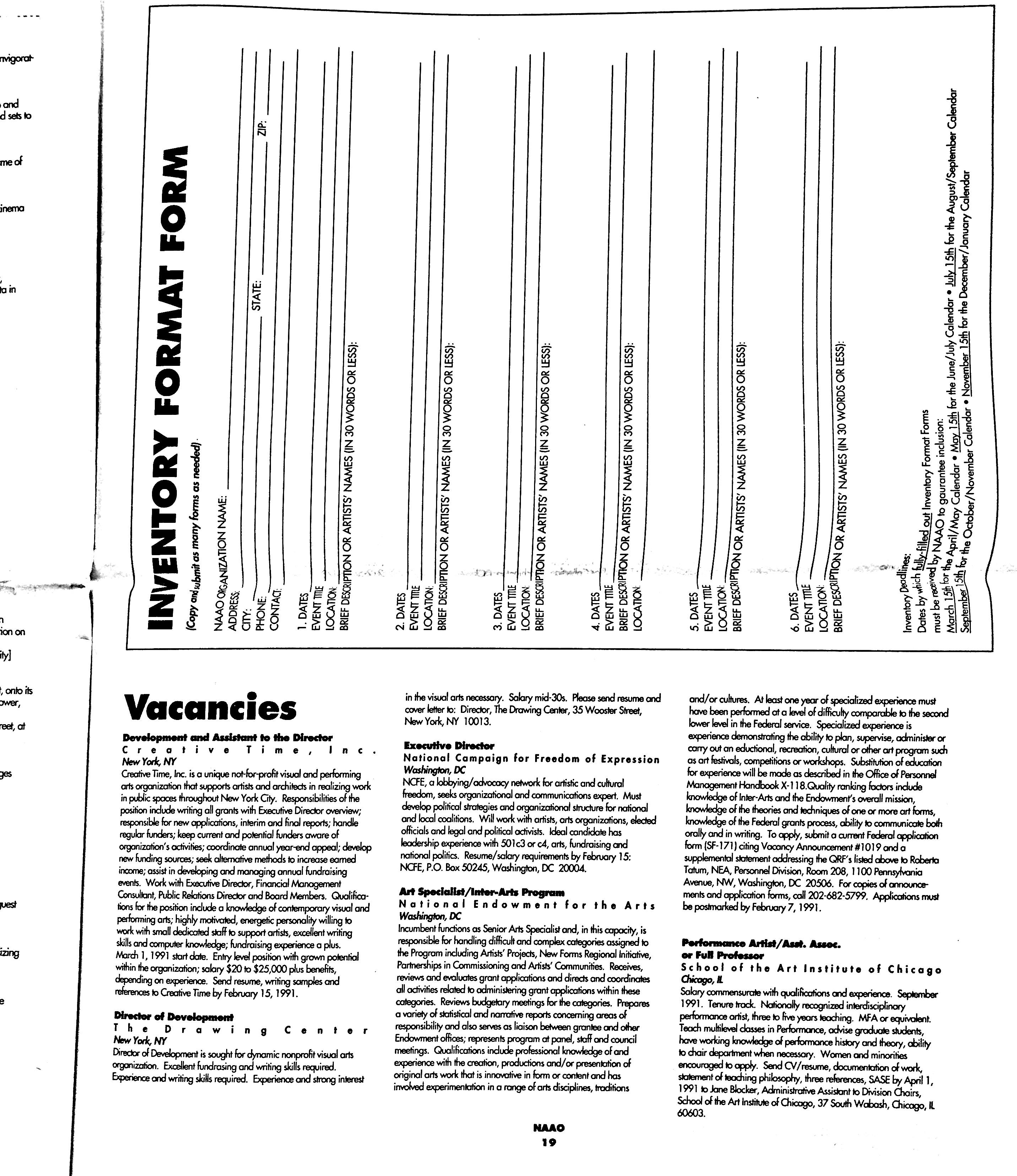 January 1991 - NAAO Bulletin Page 20.jpg