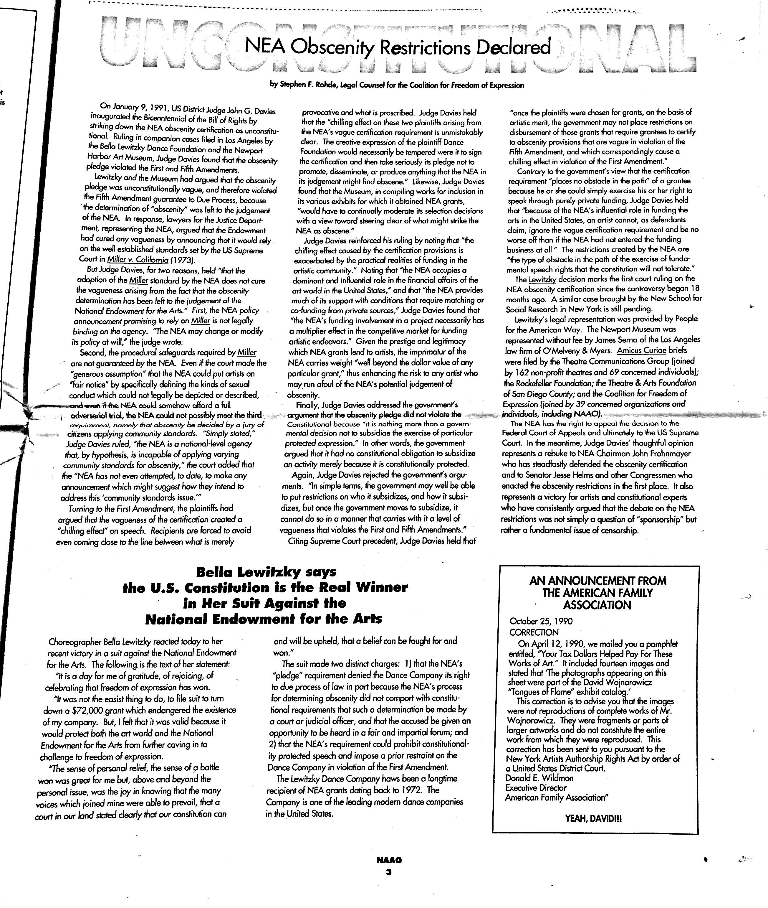 January 1991 - NAAO Bulletin Page 3.jpg