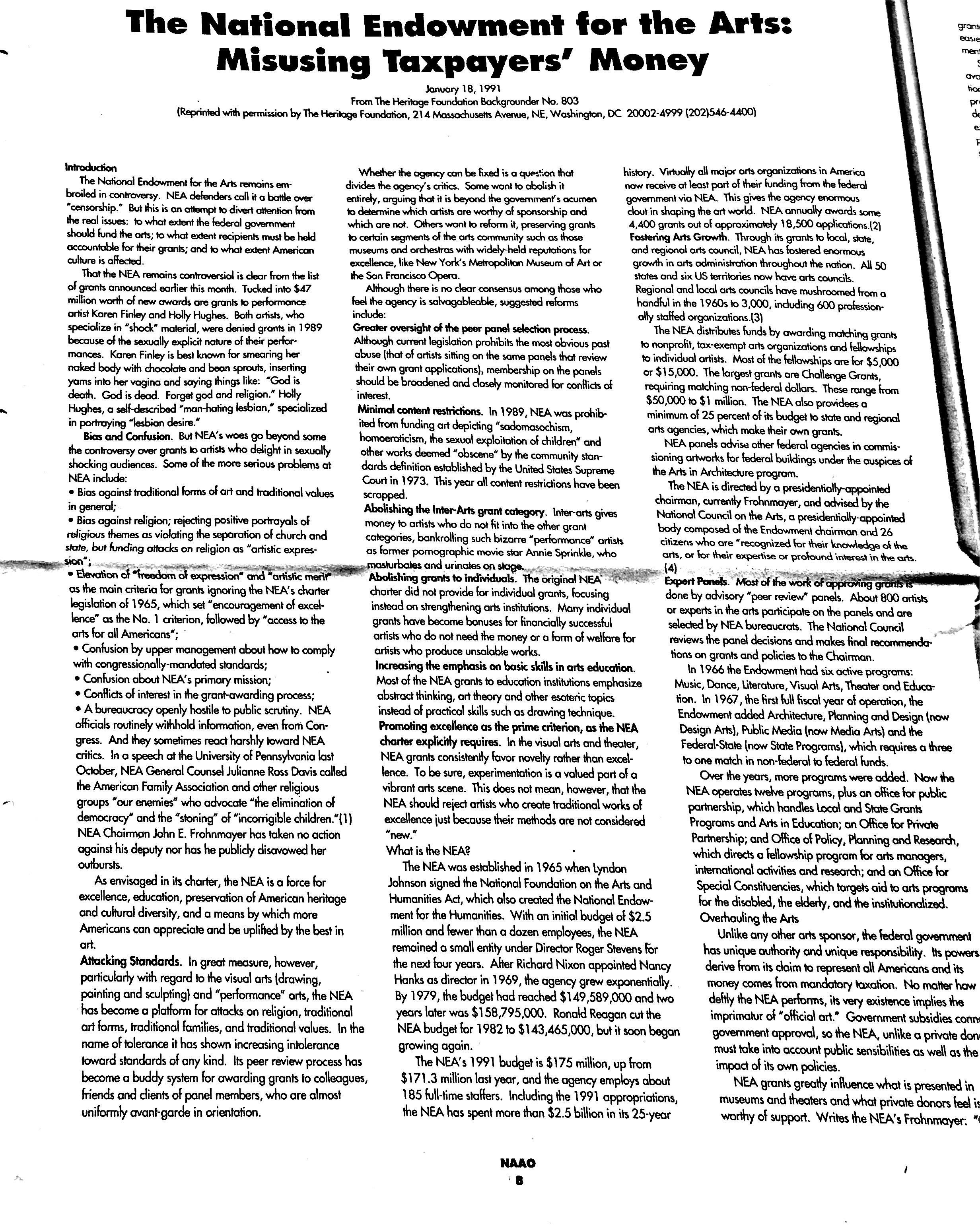 January 1991 - NAAO Bulletin Page 8.jpg