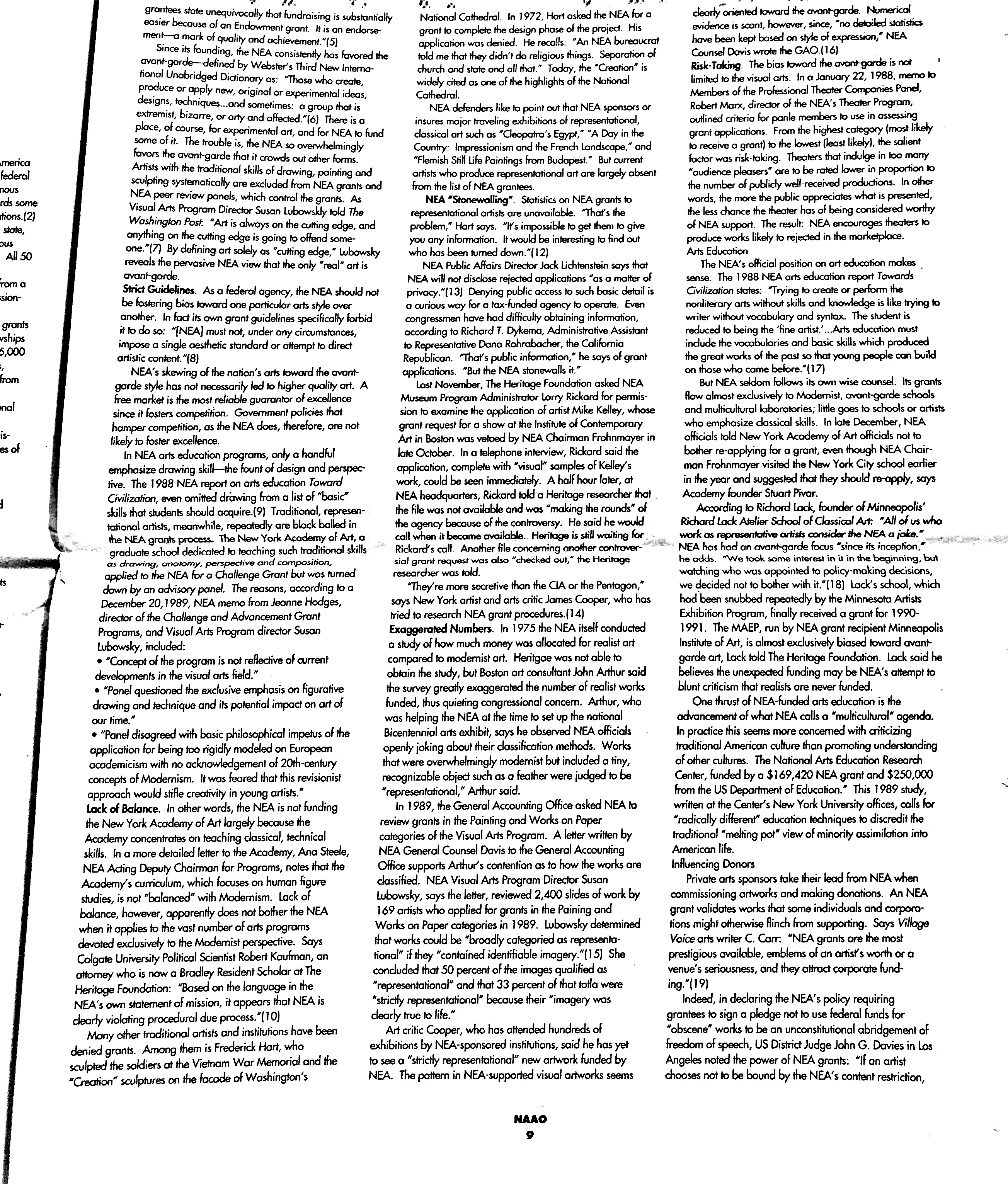January 1991 - NAAO Bulletin Page 9.jpg