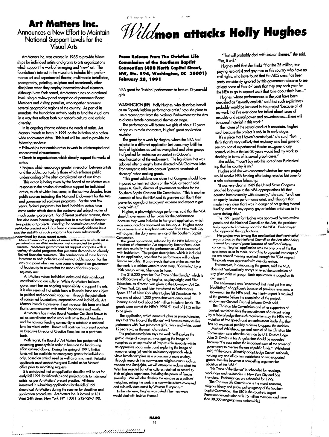 March 1991 - NAAO Bulletin Page 15.jpg