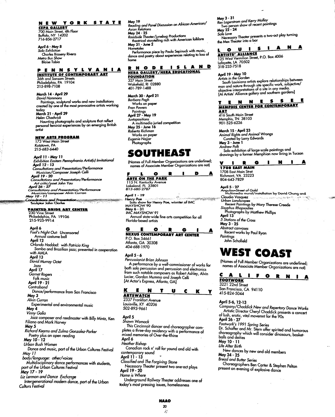 March 1991 - NAAO Bulletin Page 19.jpg