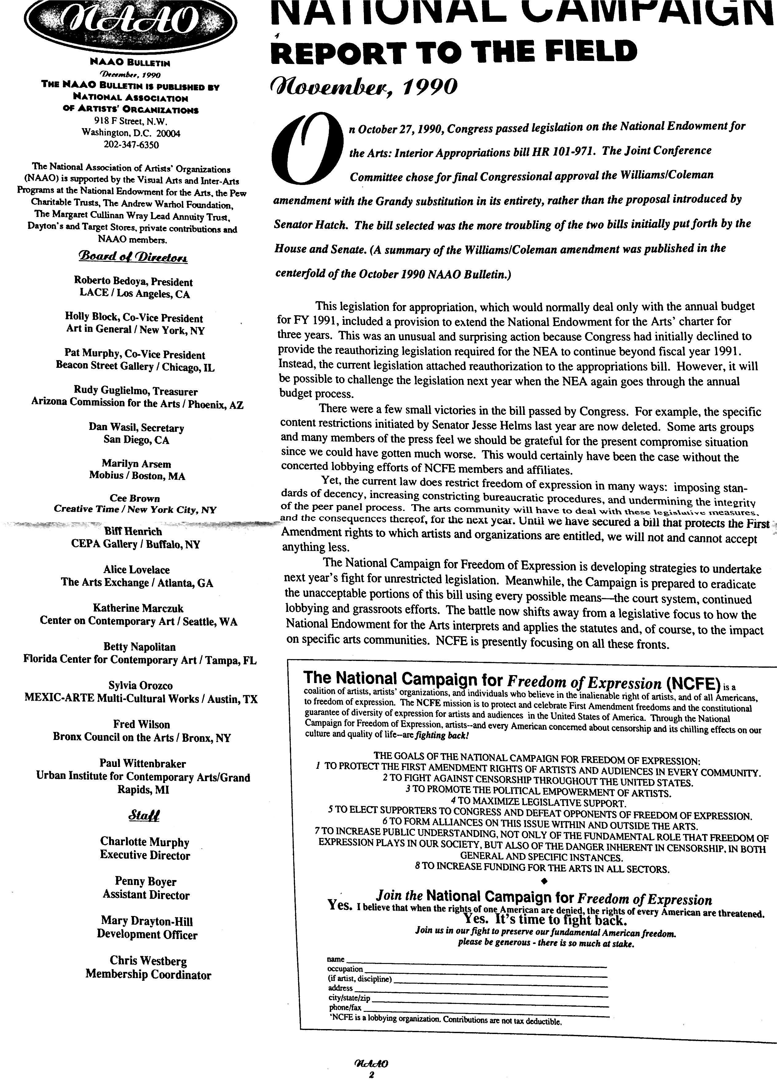 November 1990 - NAAO Bulletin Page 2.jpg