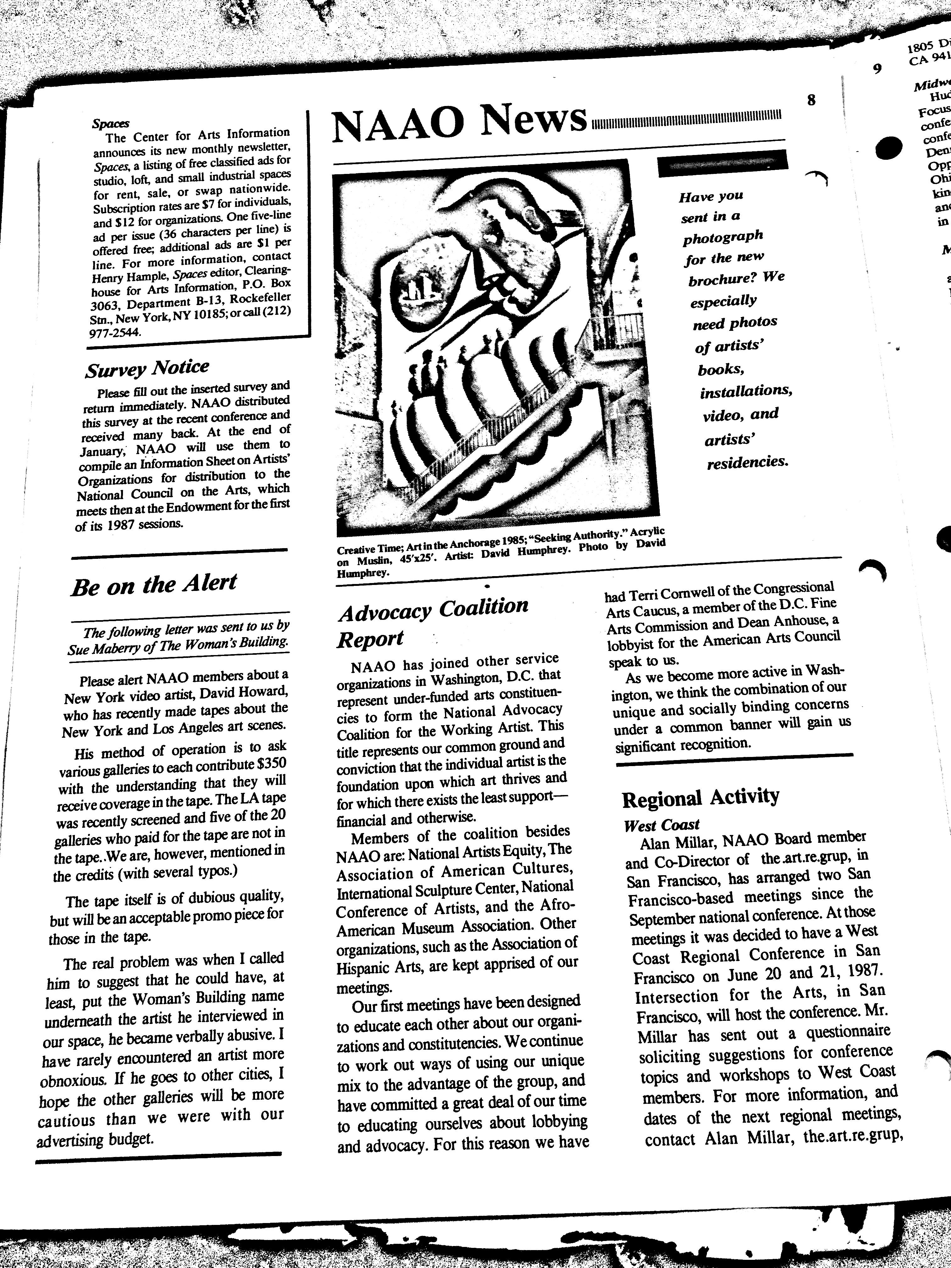 November-December 1986 - NAAO Bulletin Page 9.jpg