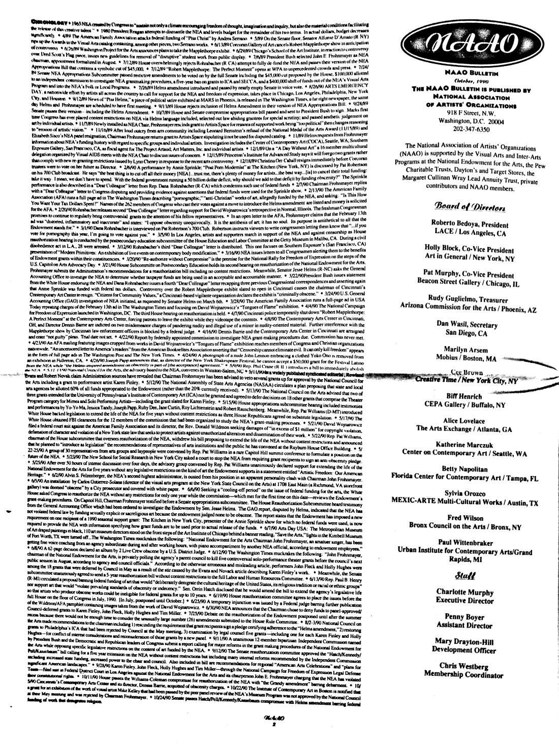 October 1990 - NAAO Bulletin Page 2.jpg
