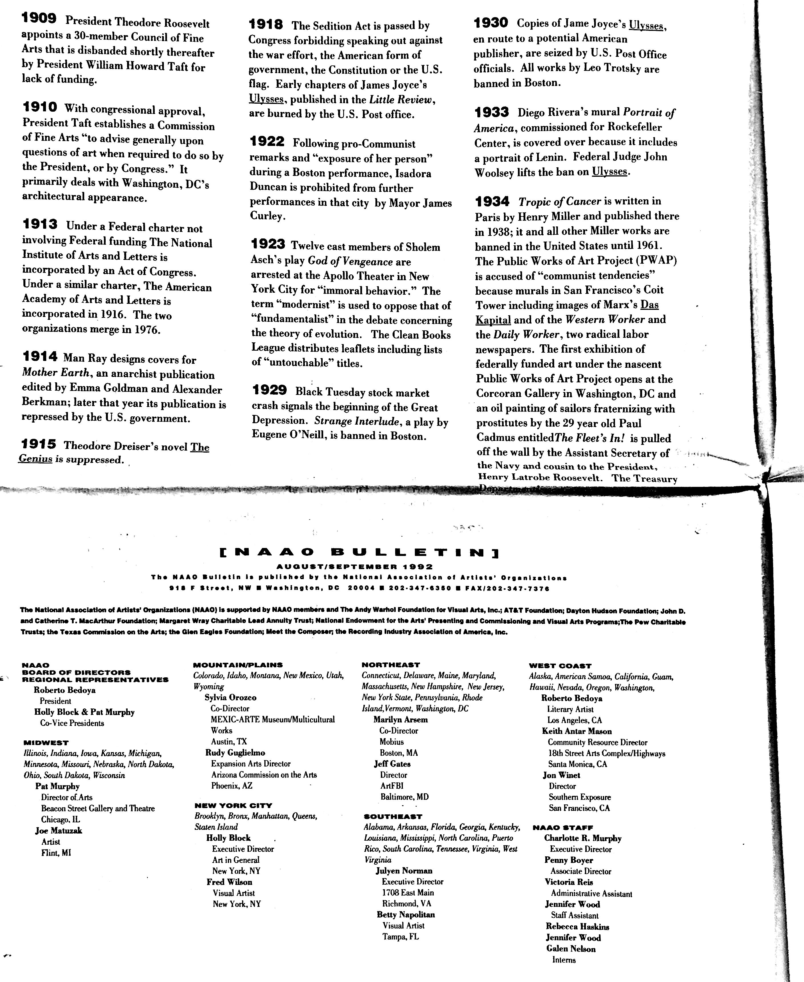 August-September 1992 - NAAO Bulletin Page 2.jpg