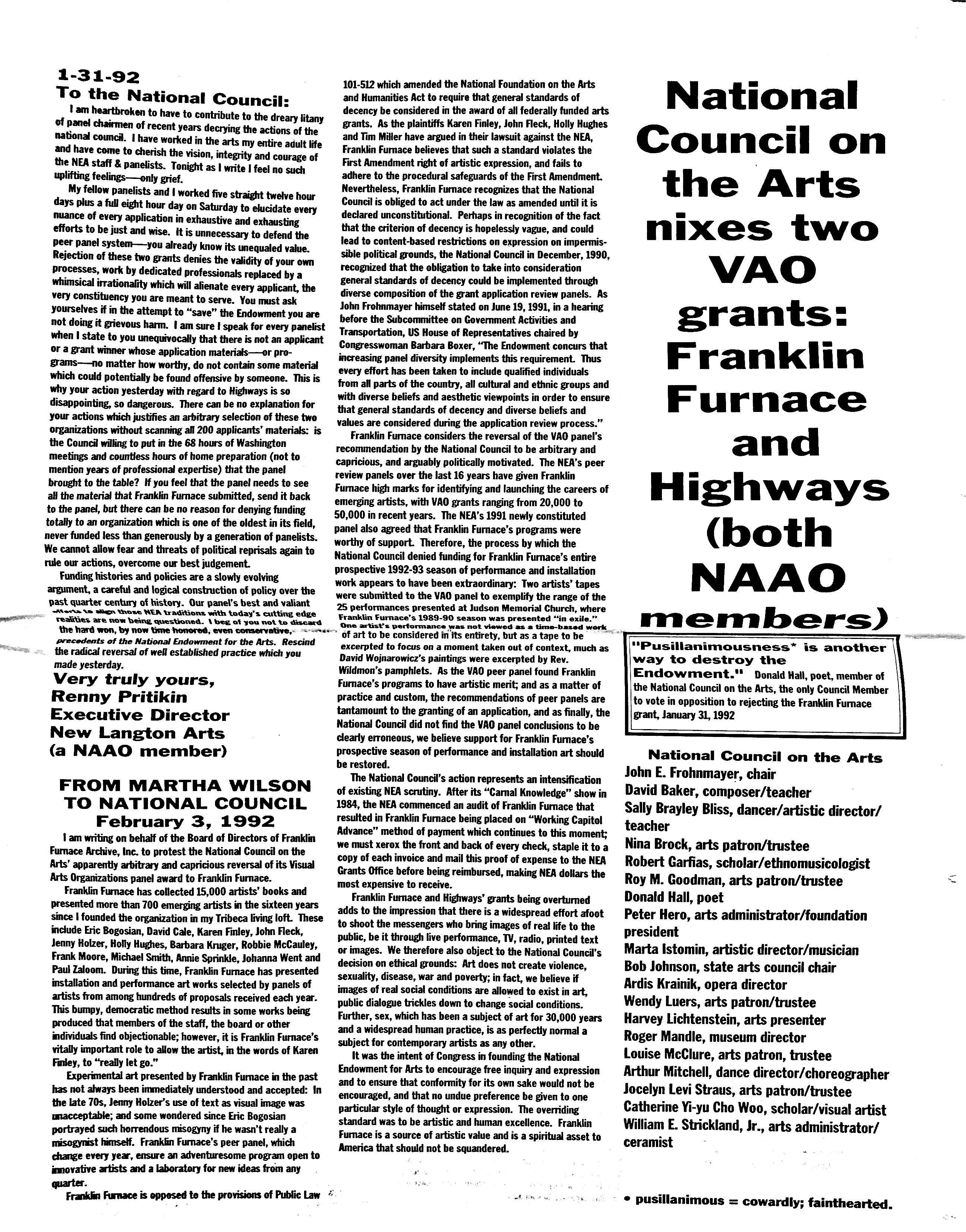 February 1992 - NAAO Bulletin Page 3.jpg
